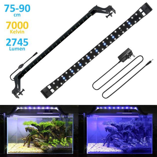 delgadas Luces de Luz acuática planta 75 Barato acuario 90 ED9WIH2Y