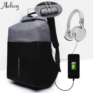 Aelicy Luxury Anti-theft Backpacks Men Women Laptop bfb875eaf82