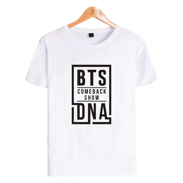 BTS DNA Woman Short Sleeve T-Shirt