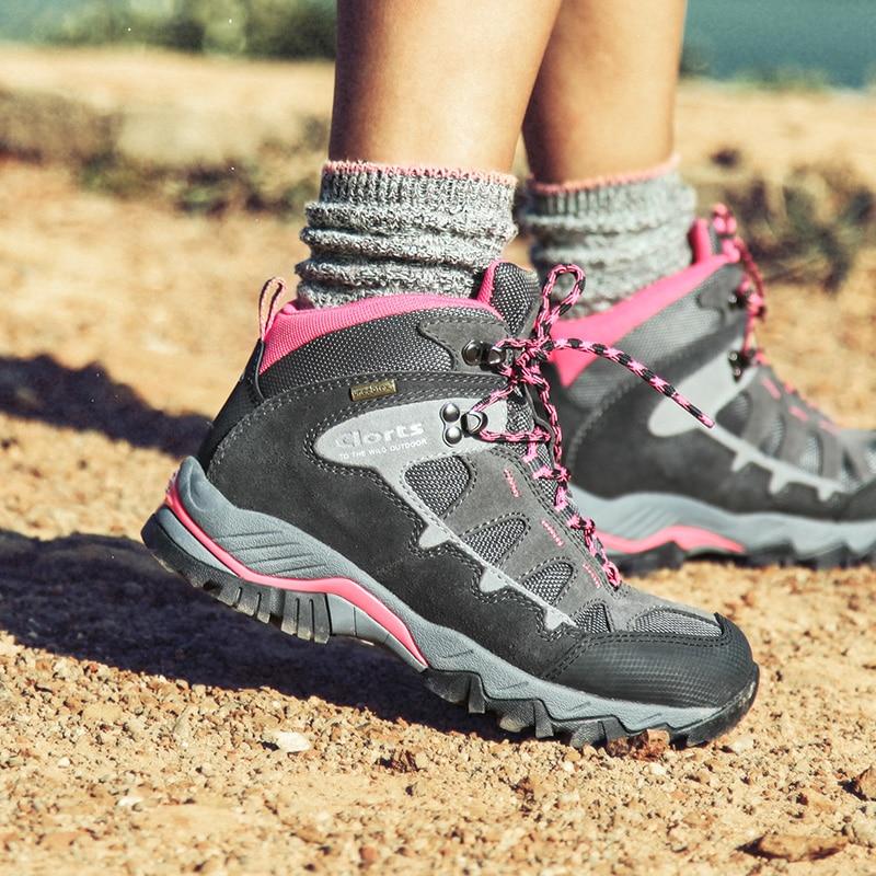 apparence élégante nouveau style de vie meilleure vente € 87.55 |Clorts Femmes Bottes de Randonnée Uneebtex Imperméable de  Randonnée En Plein Air Chaussures Escalade Sport Sneakers pour Femmes HKM  823-in ...