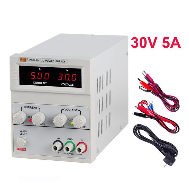 Universal Digital Switching Power Supply 30V 5A 120V 3A Source Power Adjustable For Laboratory For PC Volts 110 220 to 5 Lab