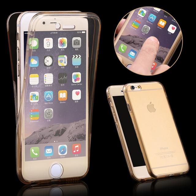 Para apple iphone 5s se caso capa mole tpu de proteo de corpo para apple iphone 5s se caso capa mole tpu de proteo de corpo inteiro crystal clear reheart Choice Image