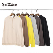 QoolXCWear quality Brand Hooded Hoodies Streetwear hip hop hoodies with winter mens kanye west hoodie sweatshirt swag solid pull qoolxcwear kanye west hoodies sweatshirts winter men women hip hop multi colour hoodies fleece sweatshirts