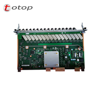 HUAWEI OLT EPFD 16 ports EPON board with 16 SFP modules PX20+