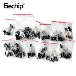 120 pièces 12 valeur kit 1 uF-470 uF Condensateur Électrolytique assortiment pack 1UF 2.2UF 3.3UF 4.7UF 10UF 22UF 33UF 47UF 100UF 220UF