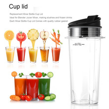 2018new licuadora Durable Blender Juicer Parts cocina deporte botella de plástico mango tapa anillo mantener dropshipping Juicer