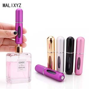 5 ml Portable Mini Refillable Perfume Bottle With Spray Scent Pump For Travel