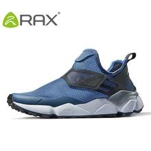 Rax tênis de corrida masculino para primavera e outono, calçado esportivo respirável para caminhada ao ar livre e corrida, para men59