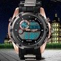 2016 NOVO Top Marca de Luxo Militar Do Exército Do Esporte Relógios Homens Digital Analógico Relógio De Choque À Prova D' Água Relógios De Pulso Relogio Relojes