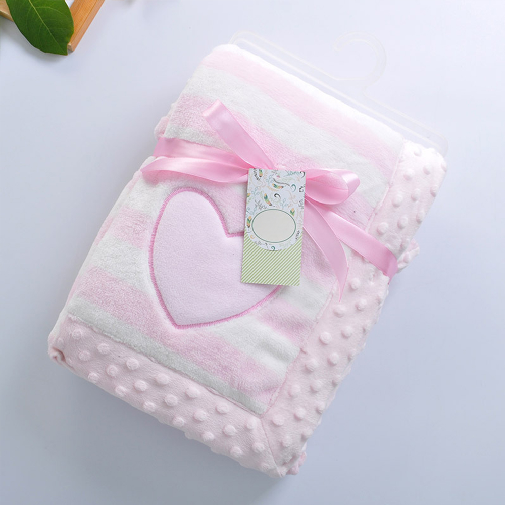 100*75 Cm Flanell Verdicken Baby Decke Neugeborenen Winter Decken Infant Bebe Swaddle Baby Wrap Baby Bettwäsche Decken Baby Produkte Erfrischend Und Wohltuend FüR Die Augen