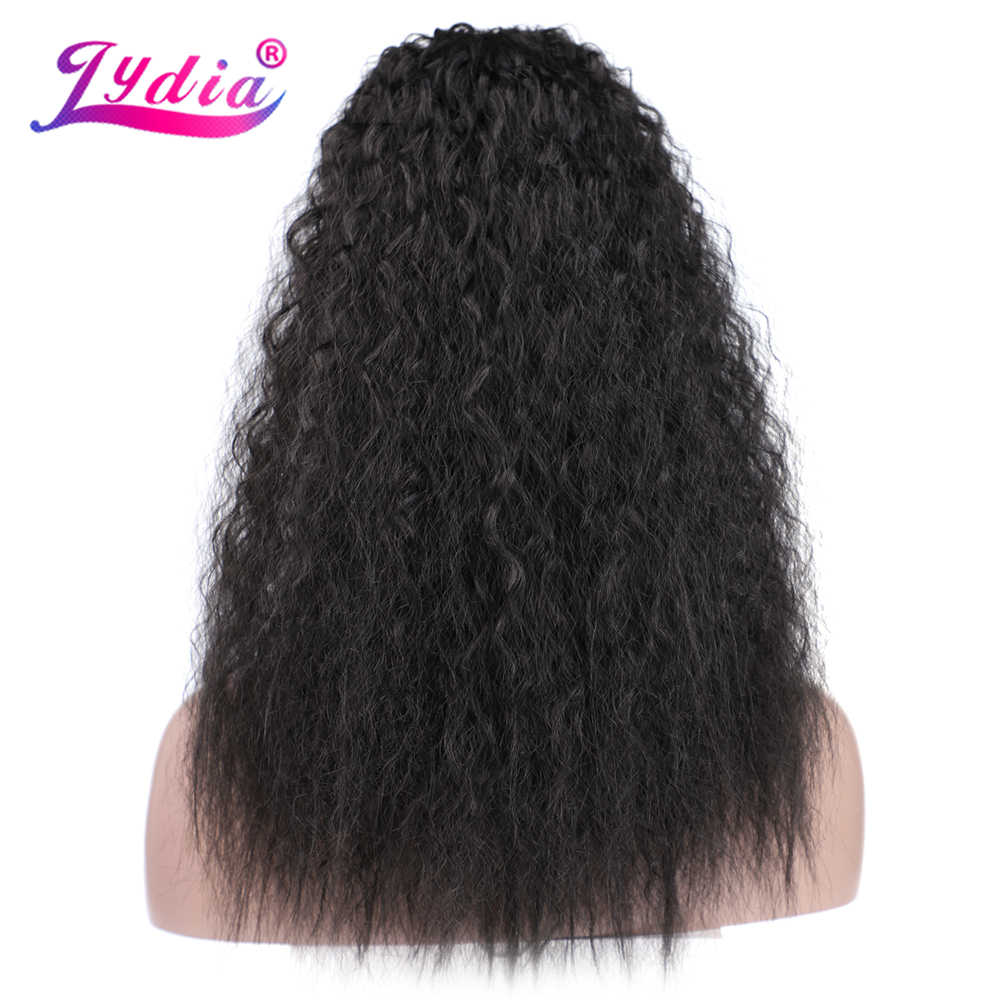 "Lydia Synthetic 20""-24""  With Two Plastic Combs Ponytail Kinky Curly Hair Extensions All Colors Available For Women"