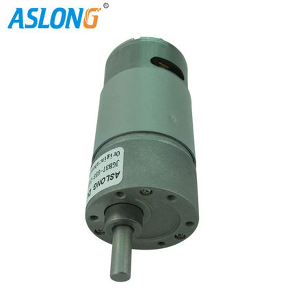 JGB37-555 High Torque Low Speed Planetary DC Gear Micro Motor 555 dc gear box motor 12v 24v 10-1300rpm gear motor to robot arm 2015 new arrival takanawa 555 metal gear motors 12v 24v dc reduction gear motor high torque low noise vec31 t30