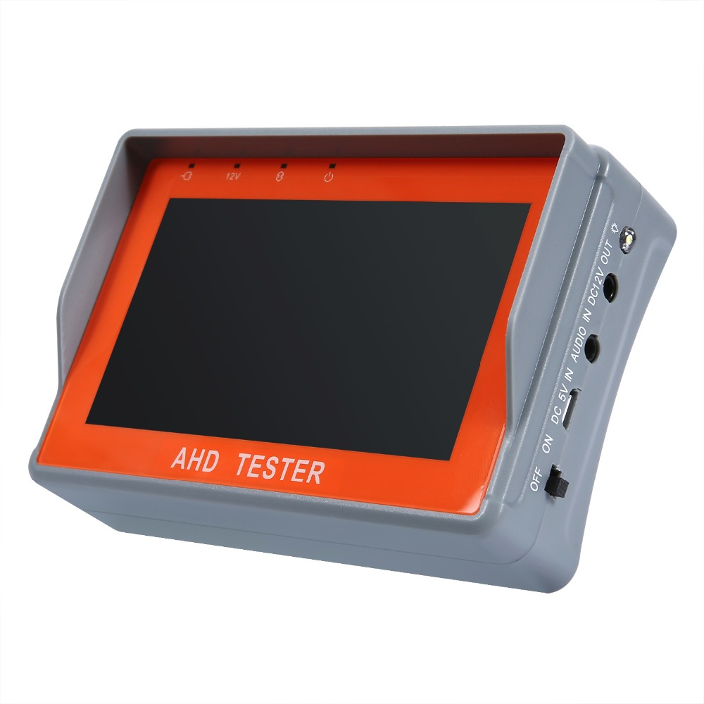 Image 3 - ANNKE 4.3 Inch HD AHD CCTV Tester Monitor AHD 1080P Analog Camera Testing PTZ UTP Cable Tester 12V1A Output-in CCTV Monitor & Display from Security & Protection