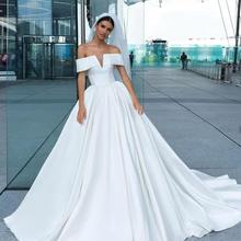 Eslieb High-end custom made A Line Wedding dresses 2019