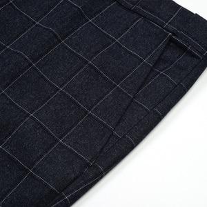 Image 4 - Plus Size 5XL 6XL 7XL 8XL 9XL Mens Suit Pants Classic Style Business Casual Loose Straight Plaid Trousers Male Brand 7Color