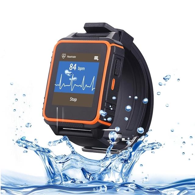 Sultra HRM W08 1.54 polegada à prova de Tri-Telefone Do Relógio Inteligente, Monitor de sono/Pedômetro/Ouvir Monitor de Freqüência/Captura Remota/GSM
