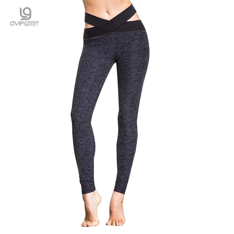 OVESPORT Moistrure Perspiration 2017 New Women Yoga Pants Sport Elastic Fitness Women Leggings Workout Running Pants For Female