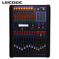 Leicozic 8 channel digital mixers professional digital mixing console dj console DGM840 mixer audio digital mini mixer rackmount