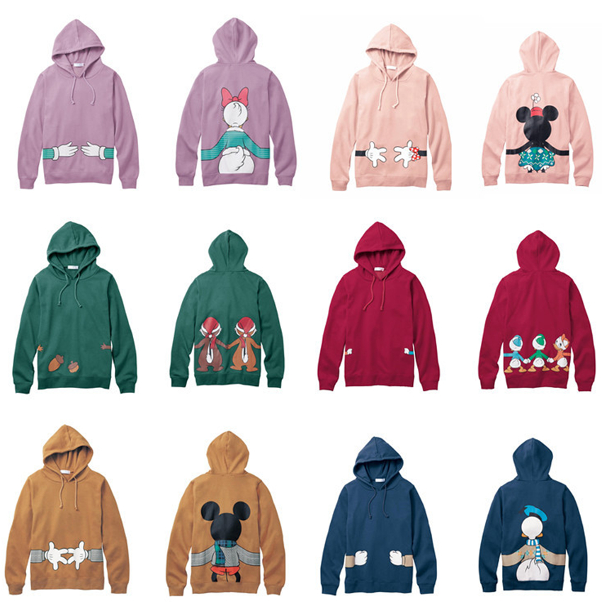 Family Matching Clothes 2017 Cotton Mickey Hoodies For Mon ...