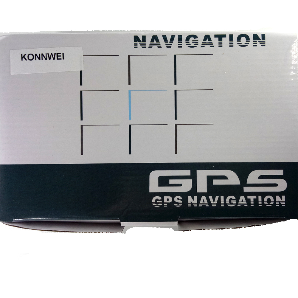 Aliexpresscom Buy KONNWEI Inch GPS Navigator Portable - Gps with europe and us maps