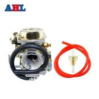 New Motorcycle Parts Carburetor & Red Oil Tube & Gasoline Filter Kit For YAMAHA XV250 Vstar 250 Virago 250 Route66 1988 2014