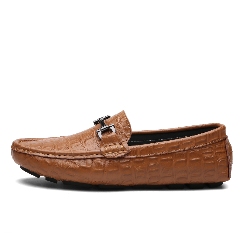 Summer Driving Shoes Uomo Alligator Classic Horsebit Leather Loafers Uomo Alligator Uomo Sneaker 8b4fd4