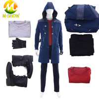 New Game Devil May Cry 5 Nero Cosplay Costume Custom for Halloween Party Nero suit Full Set