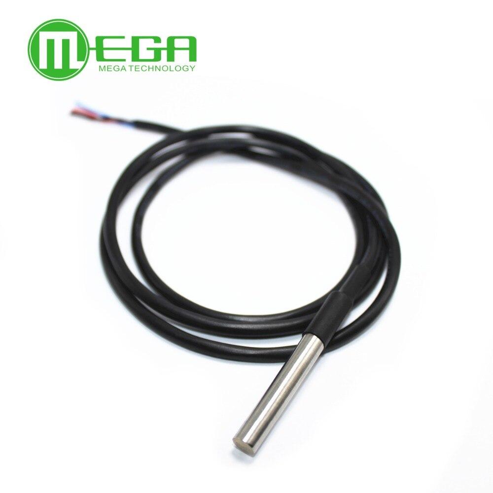 5 шт. водонепроницаемый 18B20 датчик температуры из нержавеющей стали посылка 100 см wireDS18B20