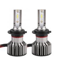 2pcs 9V 36V H7 6000K White Car Styling LED Headlight Lamp Bulb 6000K Front Light Auto Lamp Waterproof IP68 Car lamp