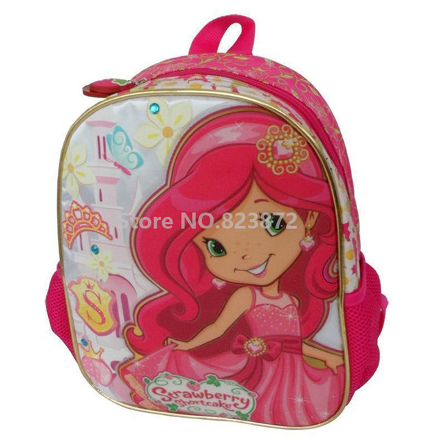 Strawberry Shortcake Cute Backpack Children School Bags for Baby ...