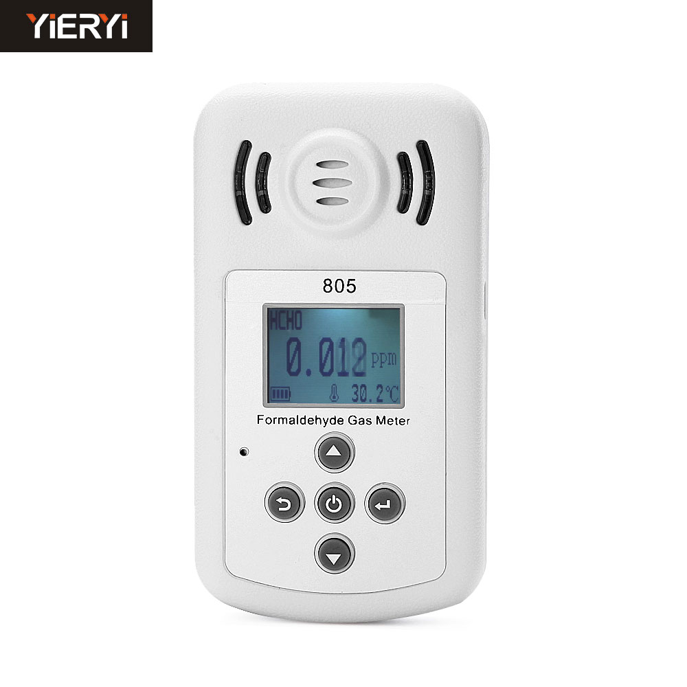 New come profession Gas formaldehyde detector PM2.5 air quality monitoring tester dust haze Temperature Humidity Moisture Meter digital indoor air quality carbon dioxide meter temperature rh humidity twa stel display 99 points made in taiwan co2 monitor