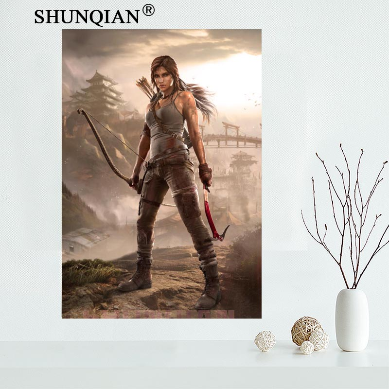 Tomb Raider Poster: Removable Mural Home Decor 20x30 Inches Poster Top Selling