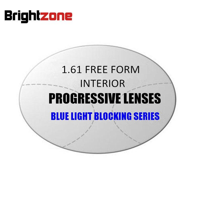 1 56 1 61MR 8 1 67 MR 7 Free Form Anti blue Light Progressive Multifocus