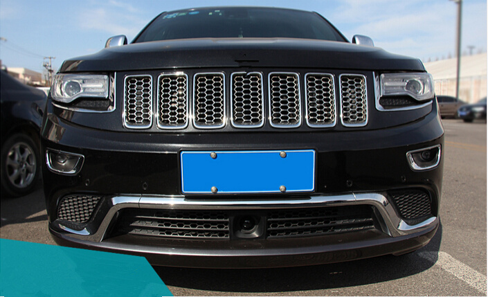 popular chrome grill jeep grand cherokee buy cheap chrome grill jeep grand cherokee lots from. Black Bedroom Furniture Sets. Home Design Ideas