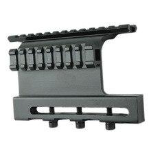 Тактический АК Двухместный Пикатинни Боковое крепление Системы винт Стиль для AK 47/74 подходит Тактический областей прямо поверх диаметр оси