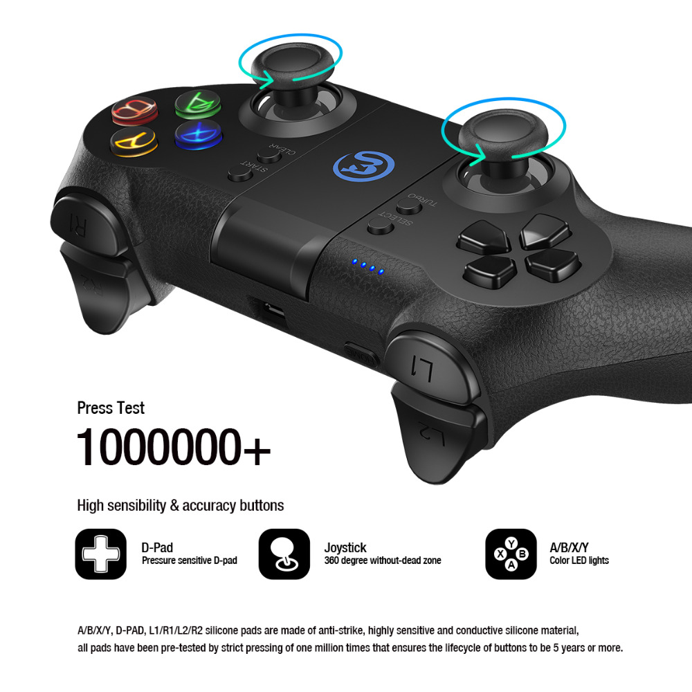 Contrôleur Android GameSir T1 Bluetooth/manette/contrôleur PC filaire USB pour PS3 (CN, US, ES Post) - 6