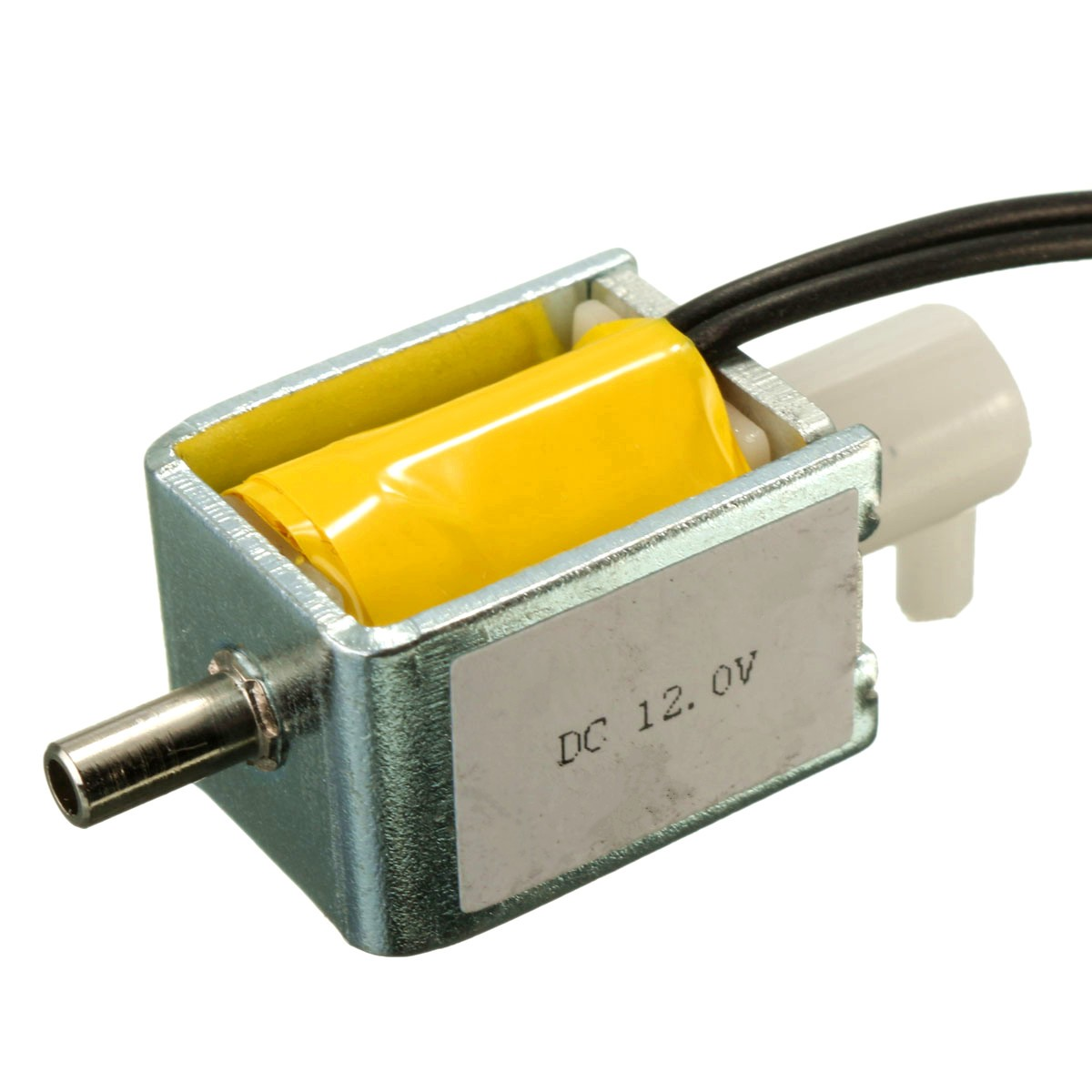 5Pcs/lot 12V DC 2-position 3-way small Mini Electric Solenoid Valve for Gas Air / pump Small size