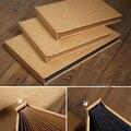 Kraft grosso livro de capa dura em branco de cartão scrapbooking álbum de DIY vara folhas da álbuns de fotos álbum de fotos 17 34 P