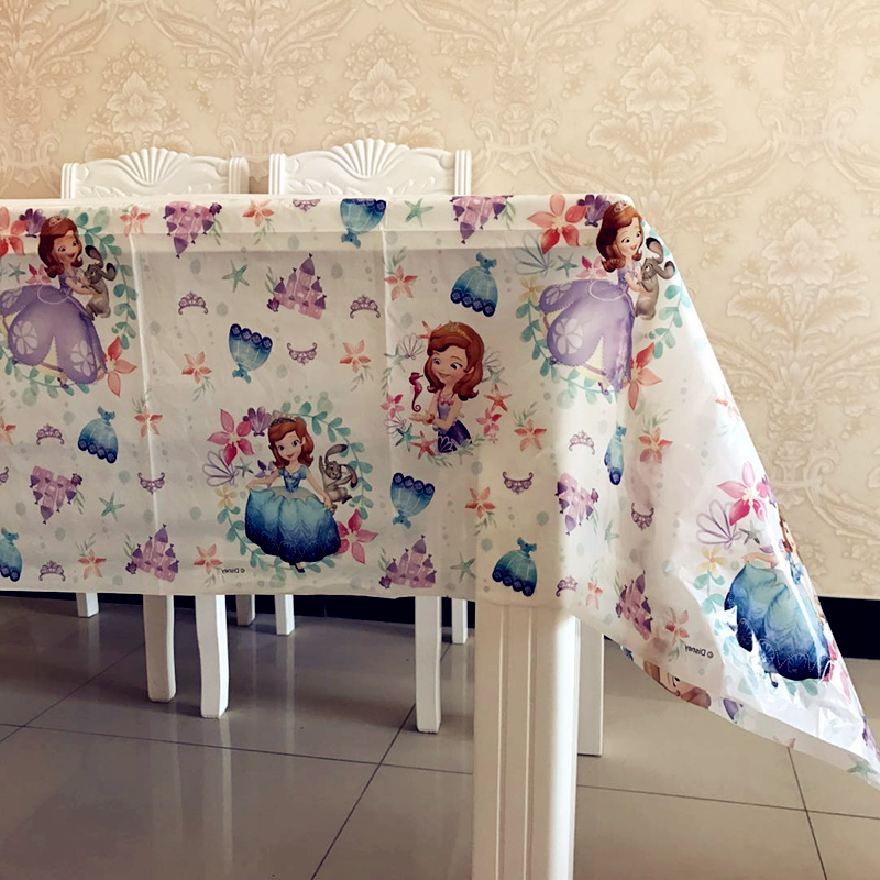 Princess Party Plastic Table Cover Birthday Supplies Decorations