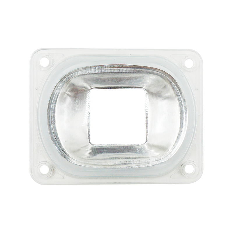 LED Lens For LED COB Chips Include: PC Lens+Reflector+Silicone Ring Lamp Cover Shades Sport Light DIY For Floodlight Spotlight