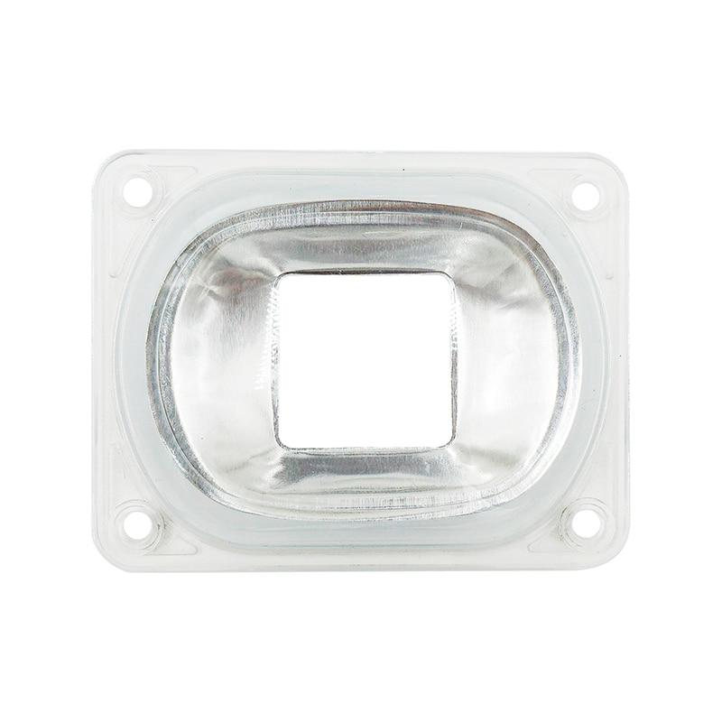 LED COB çipləri üçün LED lens daxil edilir: PC Lens + Yansıtıcı + Silikon Ring Lampa Qapaq Kölgələri İdman İşıq DIY