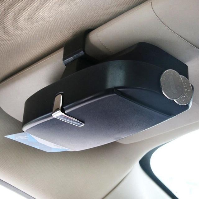 Car Sunglasses Case Holder Glasses Box Storage For Peugeot 206 307 406 407 207 208 308 508 2008 3008 4008 6008 301 408