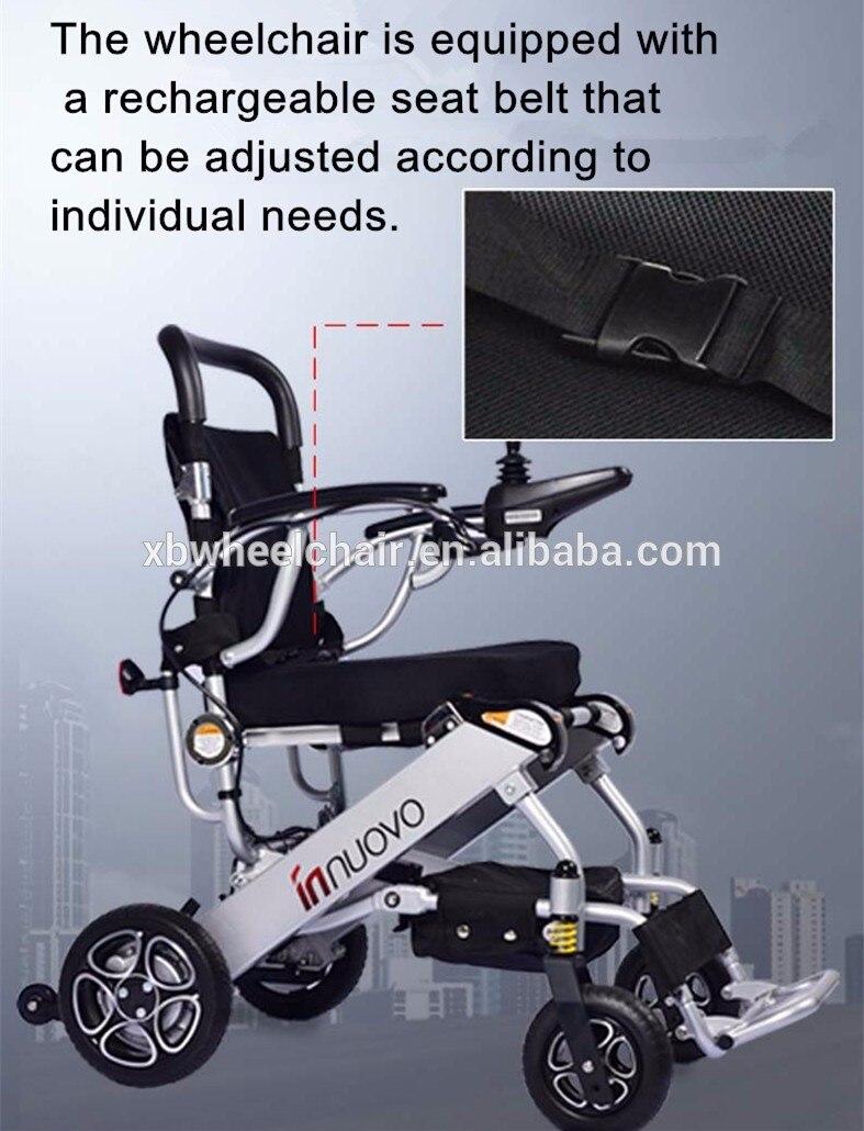 Type de fauteuil roulant et fournitures de thérapie de réadaptation propriétés fauteuil roulant électrique âgé