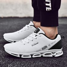 цена на Running Shoes Jogging Sneaker Blade Soles Comfortable Non-slip Size 39-44 Joomra Brand New Red Blue Free Run Sport Shoes For Men