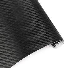 Cm x 127 cm 3D 30 Sólida De Fibra De Carbono adesivos de Carro e Decalques de Vinil Beleza Automóvel Motocicleta Styling Acessórios Envoltório folha de Rolo