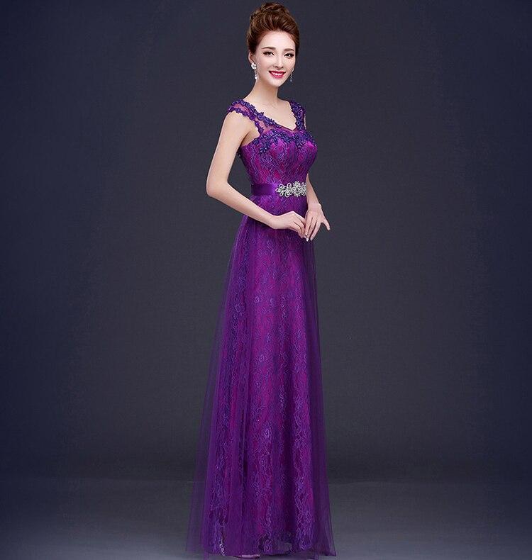 Atractivo Claret Vestidos De Dama De Color Rojo Ideas Ornamento ...