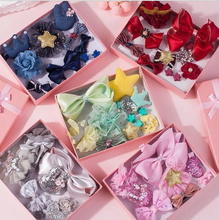 10 Pieces of Girl Hairpin Hair Accessories with a Full Package Headdress Card Accessories.