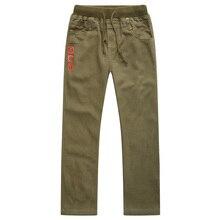 Nova moda primavera verão outono meninos calças 100% algodão calças criança casual comprimento total sólida para crianças 6 14years