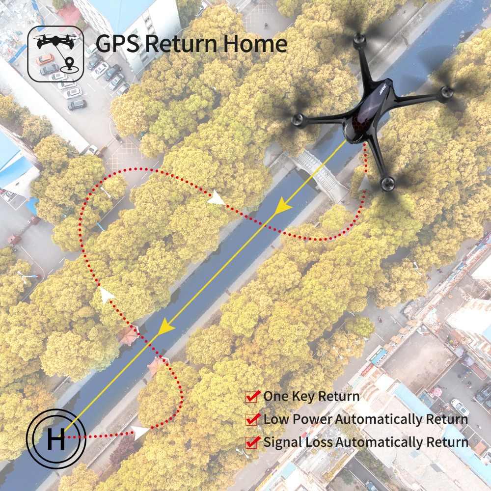 JJRC X8 RC Drone con cámara 1080P 5G Wifi FPV Dron profesional posicionamiento GPS Quadcopter Motor sin escobillas 18 minutos de tiempo de vuelo