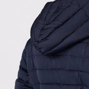 Image 4 - ASLTW Vrouwen Winter Jas Nieuwe Casual Mode Vrouwen Hoge kwaliteit Parka Jas Lange Met Capuchon Riem Merk Plus Size 4XL warme Jassen